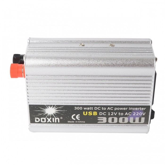 Buy 300W Car DC12V to AC220V Power Inverter with USB Port with Litecoins with Free Shipping on Gipsybee.com