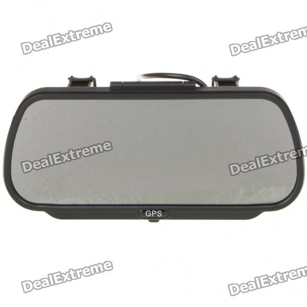 "7"" Touch Screen WinCE 6.0 GPS Navigator Achteruitkijkspiegel w / Bluetooth / AV-In / 4GB Maps SD-kaart"