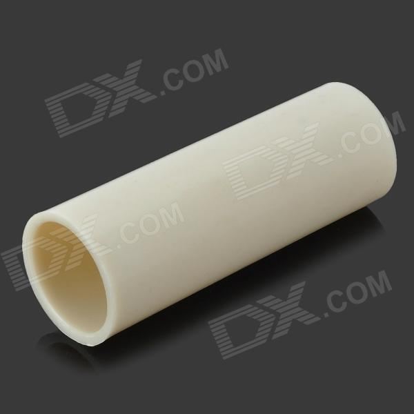 Buy 18650 to 26650 Battery Converter Case Sleeve - White with Litecoins with Free Shipping on Gipsybee.com