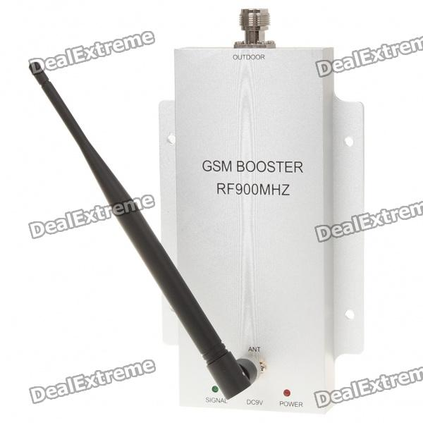 Buy GSM900 890~915MHz/935~960MHz Cellphone Signal Booster Amplifier -White with Litecoins with Free Shipping on Gipsybee.com