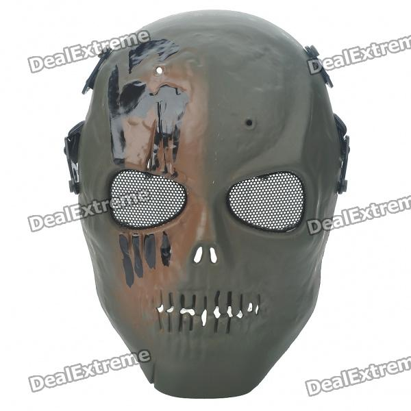 Protective War Game Military Tactical Face Shield MaskMasks<br>Material:Packing List<br>