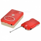 Wireless Bedwetting Enuresis Alarm for the Olds & Patients - White + Red (3 x AAA)