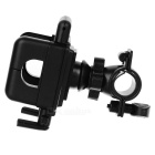 Plastic Bicycle Mount Holder for Cell Phone -Black (5~13cm Width)