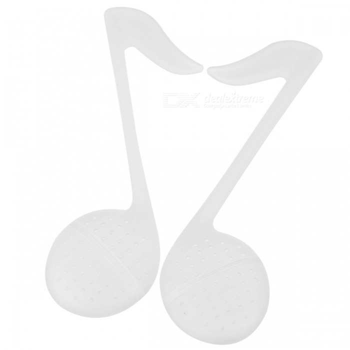 Musical Notes Tea Strainer (2-Pack/Random Color)
