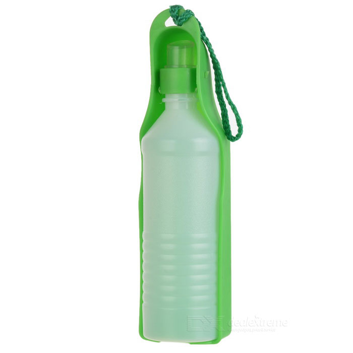 Portable Water Bottle and Bowl for Pets (500ml)